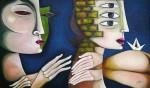 Obras de arte: America : Cuba : Ciudad_de_La_Habana : miramar_playa :  La alerta del silencio.