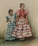 Obras de arte: Europa : España : Andalucía_Granada : Granada_ciudad : Gitanillas