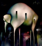 Obras de arte: America : México : Mexico_Distrito-Federal : Xochimilco : elefante espectral daliliano