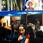 Obras de arte: America : México : Mexico_Distrito-Federal : Xochimilco : hollywood