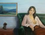 Obras de arte: Europa : España : Catalunya_Girona : La_vall_de_Bas : Noia en repos