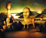 Obras de arte: America : México : Mexico_Distrito-Federal : Xochimilco : cancerbero