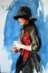 <a href='https://www.artistasdelatierra.com/obra/94487-muller-con-pucho.html'>muller con pucho &raquo; Francisco Sutil Barbosa<br />+ Más información</a>
