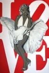 Obras de arte: Europa : España : Canarias_Las_Palmas : Las_Palmas_de_Gran_Canaria : MARYLIN IN LOVE