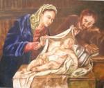 Obras de arte: America : Colombia : Antioquia : Envigado : Sagrada Familia de Jose Vergara