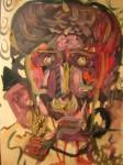 Obras de arte: America : Colombia : Risaralda : Pereira_ciudad : Retrato con pipa