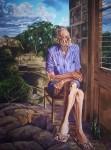 Obras de arte: Europa : España : Catalunya_Barcelona : L_Hospitalet_Llobregat : El hombre viejo