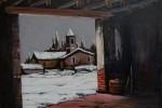 Obras de arte: Europa : España : Catalunya_Tarragona : Cambrils : Dia de nieve