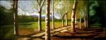 Obras de arte: Europa : España : Andalucía_Granada : Granada_ciudad : AMANECER EN EL BOSQUE