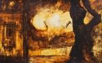 Obras de arte: America : México : Chiapas : Tuxtla : PAISAJE URBANO
