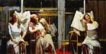 Obras de arte: America : Argentina : Buenos_Aires : Ciudad_de_Buenos_Aires : Tres Gitanas en Blanco