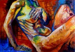 Obras de arte: America : México : Oaxaca : oaxaca_centro : Desnudo con pudor