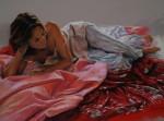 Obras de arte: Europa : España : Valencia : Alicante : Seda rosa