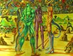 Obras de arte: Europa : España : Madrid : alcala_de_henares : el juicio de luzbel