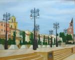 Obras de arte: Europa : España : Comunidad_Valenciana_Alicante : Torrevieja : relos en el paseo del rio de orihuela