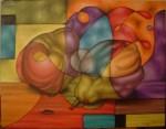 Obras de arte: America : México : Mexico_Distrito-Federal : Coyoacan : Peras