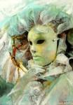 Obras de arte: America : Argentina : Buenos_Aires : Ciudad_de_Buenos_Aires : La Mascara en Blanco