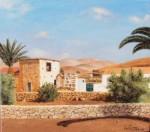 Obras de arte: Europa : Espa�a : Canarias_Las_Palmas : Puerto_del_Rosario : Desde lejos n� 6 de P�jara
