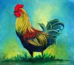 Obras de arte: America : Panamá : Chiriqui : Volcán : gallo de Carol