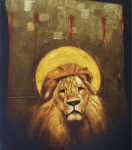 Obras de arte: America : El_Salvador : San_Salvador : San_Salvador_capital : retrato de leon