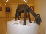 Obras de arte: Europa : España : Castilla_la_Mancha_Ciudad_Real : Puertollano : La cabra II