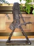 Obras de arte: Europa : España : Castilla_la_Mancha_Ciudad_Real : Puertollano : guitarrista de rock