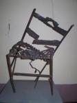 Obras de arte: Europa : España : Castilla_la_Mancha_Ciudad_Real : Puertollano : silla rota
