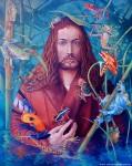 Obras de arte: America : Argentina : Buenos_Aires : Villa_Elisa : El señor de la ranas