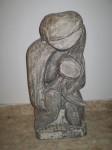 Obras de arte: Europa : España : Castilla_la_Mancha_Ciudad_Real : Puertollano : madre con hijo