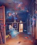 Obras de arte: America : Argentina : Buenos_Aires : Villa_Elisa : Meninas detr�s del espejo