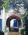 Obras de arte: Europa : España : Comunidad_Valenciana_Alicante : Elche : MATERIA AZUL