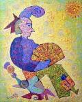 <a href='https://www.artistasdelatierra.com/obra/96470-Mujer-con-abanico.html'>Mujer con abanico &raquo; Angel Cabel<br />+ M�s informaci�n</a>