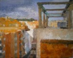 Obras de arte: Europa : Espa�a : Catalunya_Barcelona : Barcelona : Desde la terraza