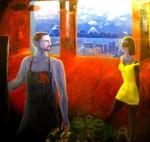 Obras de arte: America : Chile : Los_Lagos : puerto_montt : Taller con musa