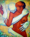 Obras de arte: America : México : Quintana_Roo : cancun : Abrazo