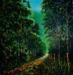 Obras de arte: America : Panamá : Panama-region : BellaVista : sendero los quetzales