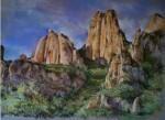 Obras de arte: Europa : España : Catalunya_Barcelona : Sabadell : Montserrat (Montaña Magica)
