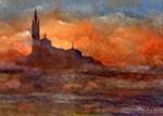 Obras de arte: Europa : España : Madrid : Boadilla_del_Monte : Homenaje a Monet