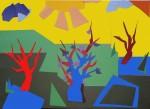 Obras de arte: Europa : España : Extrmadura_Cáceres : Logrosan : Paisajes de papel 1