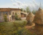 Obras de arte: Europa : España : Catalunya_Girona : St.Privat_de_bas : Pajares
