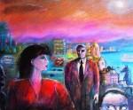 Obras de arte: America : Chile : Los_Lagos : puerto_montt : Nocturna