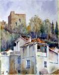 Obras de arte: Europa : España : Andalucía_Granada : Granada_ciudad : Placeta de la miga