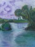 Obras de arte: Europa : España : Galicia_Pontevedra : vigo : Paisaje-Monet