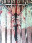 Obras de arte: America : Argentina : Misiones : Obera : Fragmento de Angel Caido