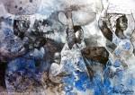 Obras de arte: America : Argentina : Buenos_Aires : Villa_Elisa : Madres negras