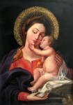 <a href='https://www.artistasdelatierra.com/obra/97725-Virgen-con-Niño.html'>Virgen con Niño &raquo; JOEL  ESPINOZA CHAMORRO<br />+ M�s informaci�n</a>