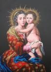 Obras de arte: America : Perú : Lima : Lima_cercado : Virgen del Rosario