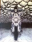 Obras de arte: America : Argentina : Misiones : Obera : Motoquero