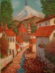 Obras de arte: America : México : Mexico_Distrito-Federal : Coyoacan : Pueblo