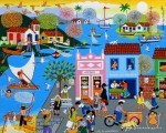 Obras de arte: America : Brasil : Pernambuco : Jaboatao : Vila de Pescadores